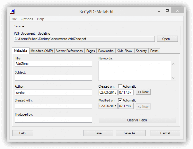 Remove Passwords And Edit PDF Metadata With BeCyPDFMetaEdit, How to Remove Passwords from Adobe PDF Files