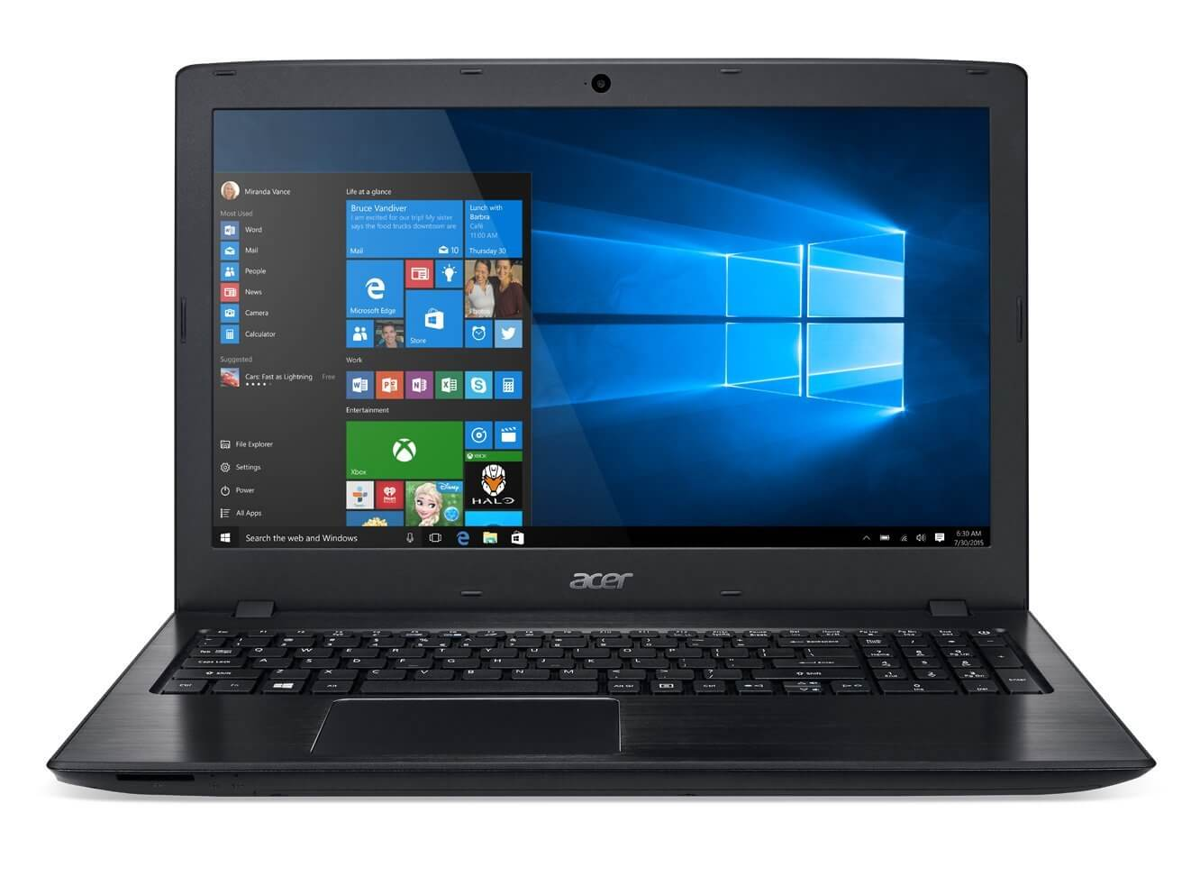 Acer Aspire E 15 E5-575G-57D4 15.6-Inches Full HD Notebook best business laptop with dedicated graphics card good for gaming also