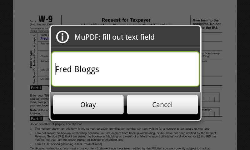 MuPDF lightweight pdf reader