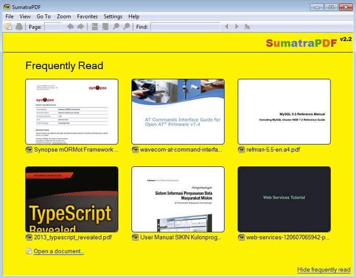 Alternatives to Nitro PDF Reader
