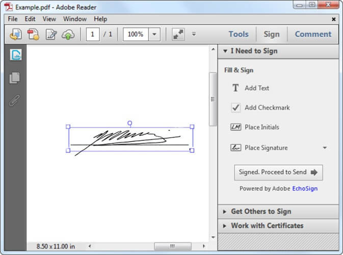 how to sign a pdf in adobe reader how to create an electronic