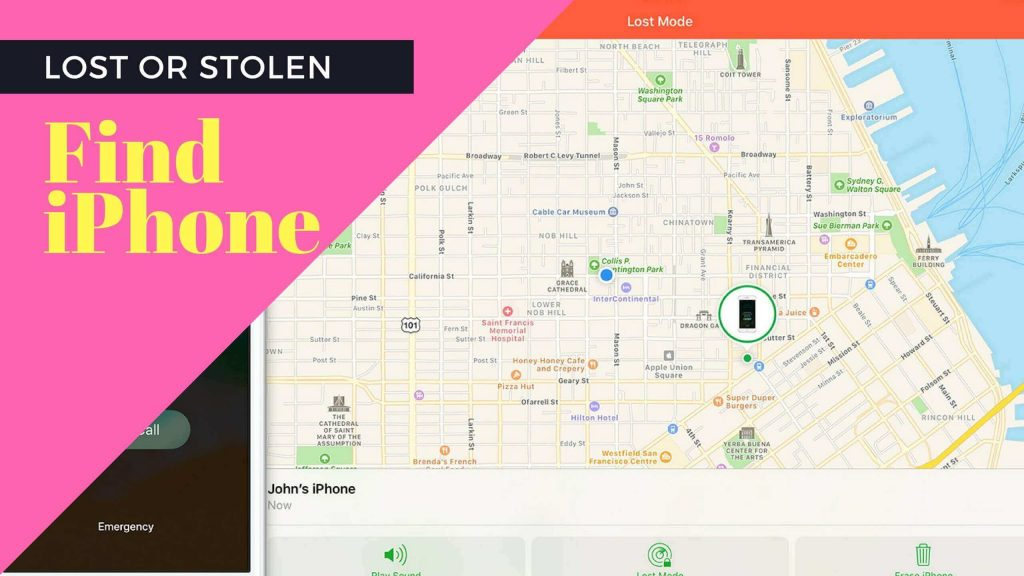 how to find a stolen iphone x