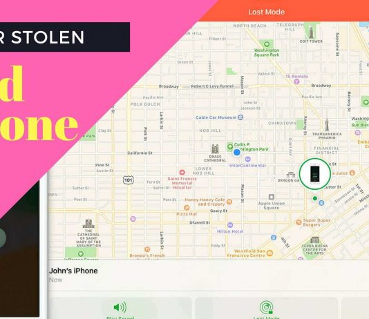 find iphone ipad lost or stolen and turned off
