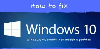 Fix Bluetooth is Not Working in Windows 10