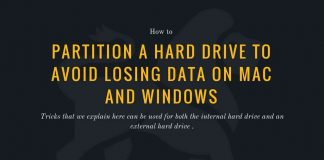 PARTITION A HARD DRIVE TO AVOID LOSING DATA ON MAC AND WINDOWS