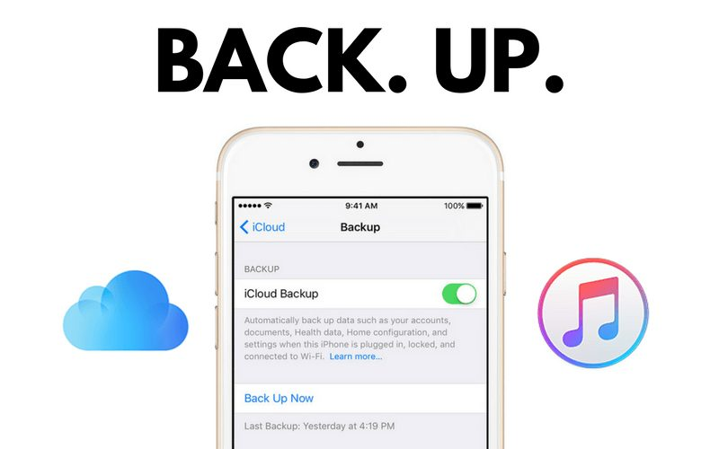 How to Backup Your iPhone Using iCloud, iTunes or IOT