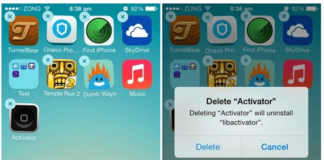 How to remove icons from iPhone and iPad home screen