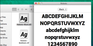 How to install new fonts on Mac