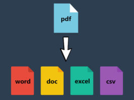 Convert PDF files into images