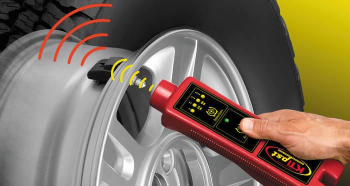 Control System Tire pressure: high-tech car gadget