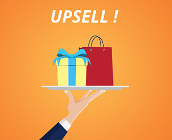 Upsell products